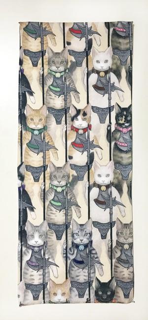 フェイスタオル 猫