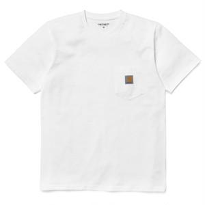Carhartt (カーハート)S/S POCKET T-SHIRT / White サイズS