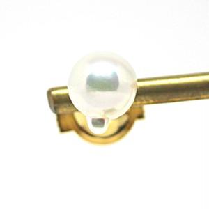 あこや本真珠のしずくのタイタックA  ピンズ ピンバッチ
