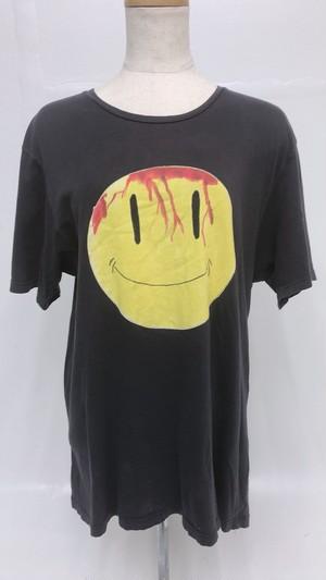 【古着】ブラックニコちゃんTシャツ