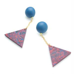 triangle chain pierce_red multi_#020