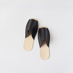 スリッパ Slippers (black)