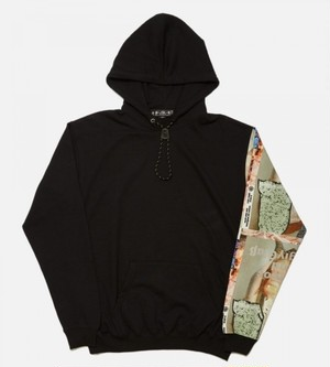 bal バル MINERAL CO HOODED SWEATSHIRT (BLACK)