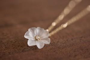 プリムローズ primrose K18 クオーツ ダイヤモンド ネックレス
