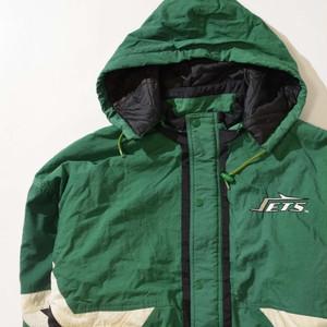【Lサイズ】STARTER スターター JETS JACKET ジャケット GREEN グリーン 400610190904