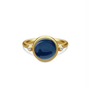 JULIE SANDLAU PRIME RING  BLUE SAPPHIRE CRYSTAL