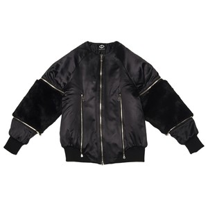 Arm Fur Blouson (Black)