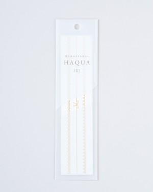 水と箔のアクセサリー HAQUA-ハクア- ゴールド 101