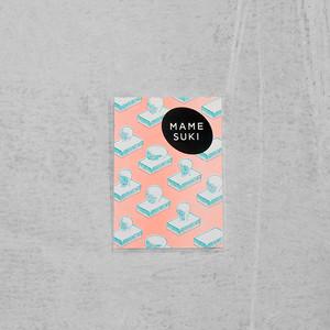 ポチ袋[スーパーブビュー]Shell pink × turquoise