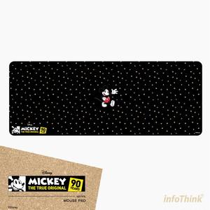 InfoThink マウスパッド ディズニー ミッキーマウス 90th アニバーサリー