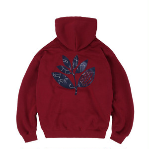 MAGENTA CONSTELLATION HOODIE BURGUNDY L