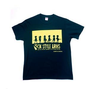 Tシャツ JK STYLE ARMS 分隊イメージイラスト