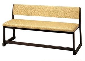 新背付三人用椅子(木製)