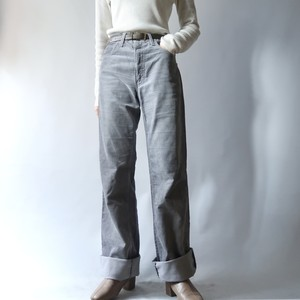 Levi's corduroy pants / blue-gray