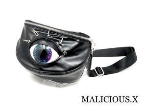 eye big body bag / blue × pink(smoke)