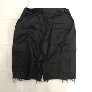 cut off military cargo pants