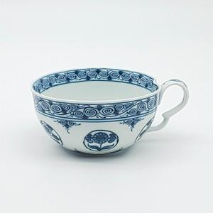 丸紋花絵 スープカップ