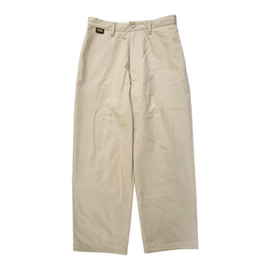 SESSION Pants -Beige-