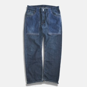 WCH 505's Remake Fatigue Denim Jeans #C