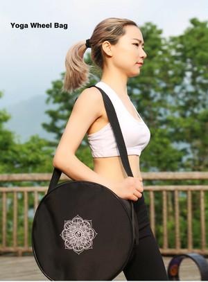 【予約商品】★ヨガホイールカバー★Mandala Flower柄