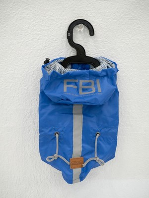ドッグウエア レインコート VANCOUVER FBI(BLUE) 20cm