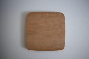 松下由典|木のコースター(L) ブナ材