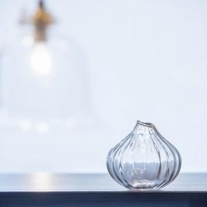 (再入荷)そら豆ガラス商店 花器 たまねぎ 【ガラス 一輪挿し】