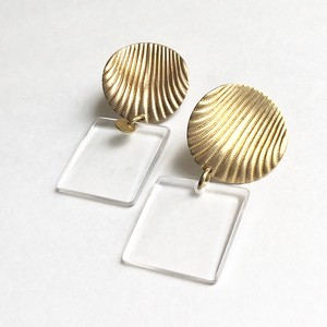 Limited clear lucite earrings01*