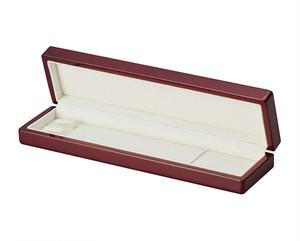 ネックレス用木製塗装ケース ピアノ塗装仕上げ  WOODENシリーズ 6個入り AR-N842