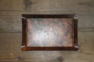 tone / トーン Square tray S(COPPER RED)