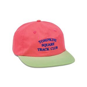 QUARTERSNACKS / TRACK CLUB CAP -PINK-