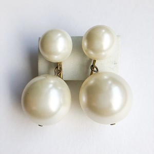 """Marvella"" pearl dangle earring[e-1000]"