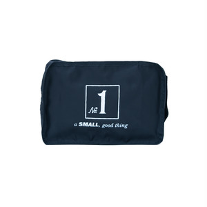 No.1 Travel Pouch (Print) Black  LO-STN-PC01