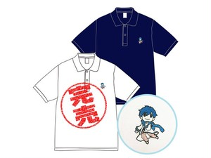 【雪ミク スカイタウン】KAITO ポロシャツ