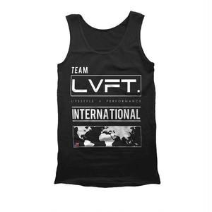 LIVE FIT.リブフィット International Tank(タンクトップ)-  【Black】 メーカー直輸入品!
