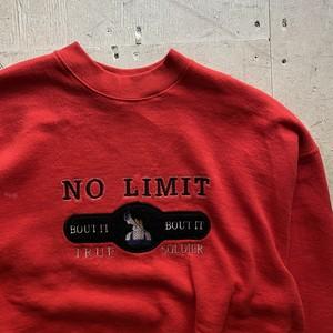 """NO LIMIT RECORD """"sweat shirt"""""""