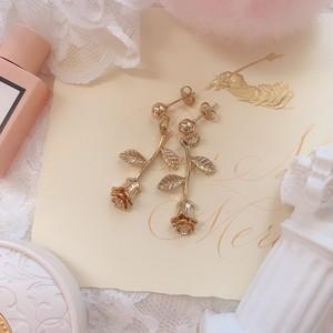 Classic rose earring(イヤリング)
