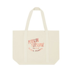 MAISON KITSUNE SHOPPING BAG PALAIS ROYAL / KUX-8756-B