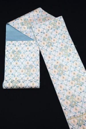 袋帯 西陣織 能楽松菱文