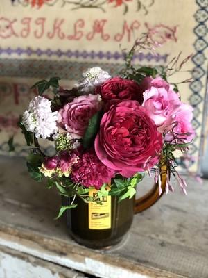 merci maman!Pitchers et fleurs  お届け先が名古屋市内のお客様は別料金プランがございます