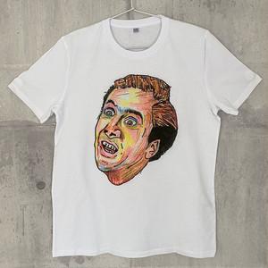 【送料無料】 NICOLAS CAGE / Men's T-shirts M ニコラス・ケイジ / メンズ Tシャツ M