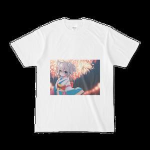 オリジナルTシャツ【夏の終わりに】 / なちる