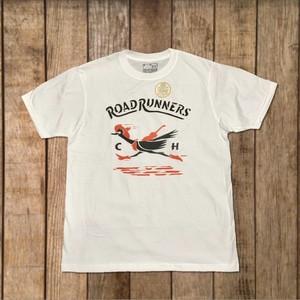 【FORTY ORIGINAL×堀口知江】RoadRunners! HANDMADE STENCIL T-SHIRT