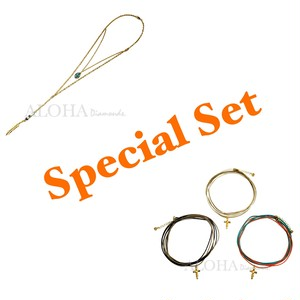 Special Set!!! Dream Wings ネックレス+Indian  Girl ロング紐チョーカー(お1つ)