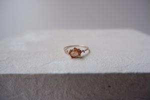 K10YG Sunstone ring