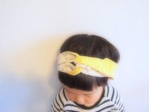 【order made】textile ヘアバンド(kids)