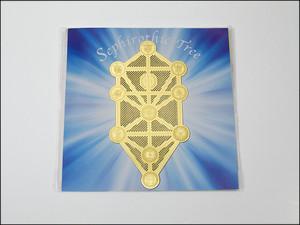 再入荷第2弾★エナジーカード★【Crystal Mind】 セフィロトの樹 〔創造〕