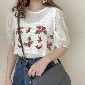 flower design bustier[5/19n-19]
