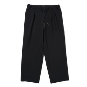 S.F.C WIDE STRAIGHT PANTS WOOL(BLACK)