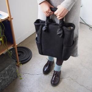 muji leather bag